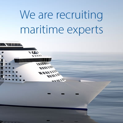 We are recruiting maritime experts